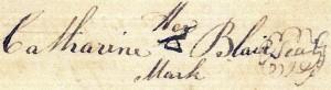 Mark of Catharine Blair